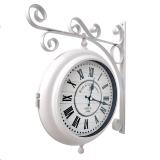 Настенные двусторонние часы GALAXY AYP-820-1 White