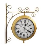 Настенные двусторонние часы GALAXY AYP-820-3 Gold