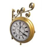 двусторонние часы GALAXY AYP-820 Gold