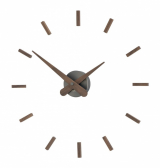 Настенные часы Nomon SUNSET T GRAPHITE, 50 см